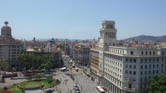 Barcelona de cima