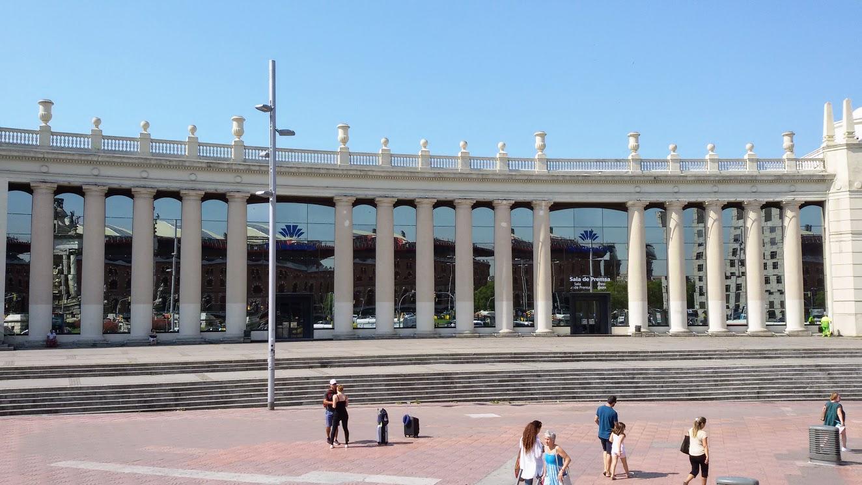 Barcelona de onibus