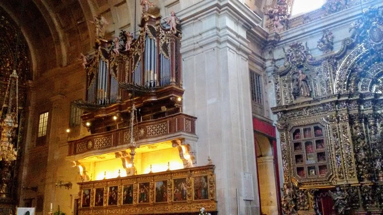 interior catedral Coimbra