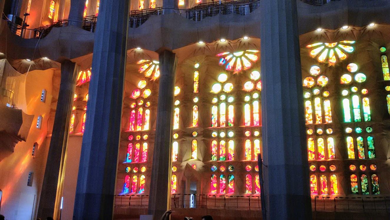 Luminosidade da Sagrada Familia