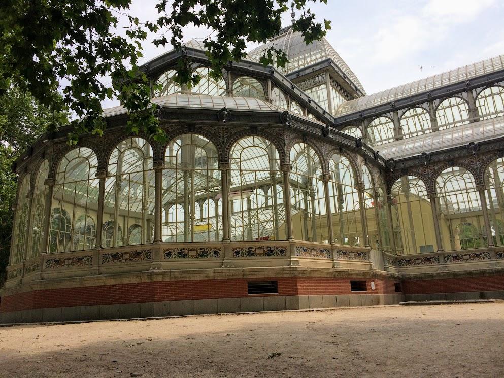Palacio de Cristal Madri