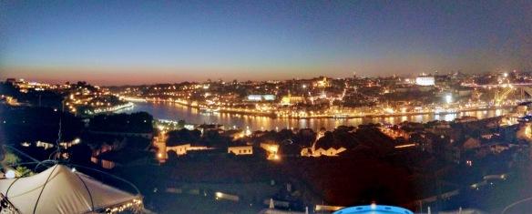 Porto Gaia - Rio Douro noite